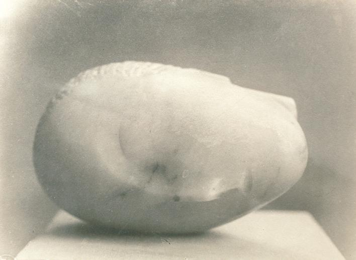 Sleeping Muse, c. 1920s Gelatin silver print, printed c. 1920s. 6 3/4 x 9 1/2 inches
