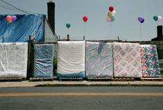 Camden Mattresses, 2001-2006 Archival pigment print mounted to board 22 1/2 x 34 inches