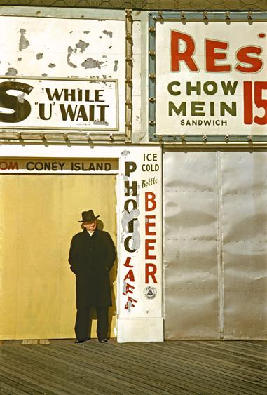 Coney Island V, 1953 Archival inkjet print 19 x 13 inches