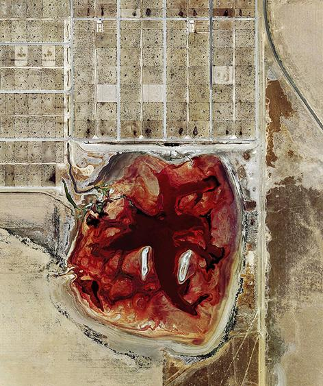 Coronado Feeders, Dalhart Texas, 2013. From the series Feedlots Archival pigment print