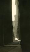 William Street, 1921 Gelatin silver print, printed c. 1921 9 1/2 x 5 1/2 inches