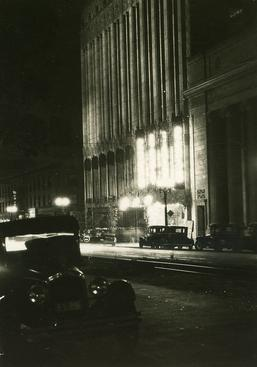 Hollywood at Night, 1926 Gelatin silver print, printed c. 1926 4 x 2 3/4 inches