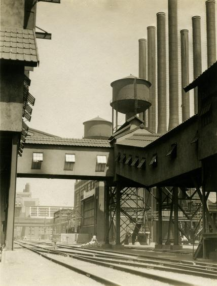 Ford Factory, Detroit, MI, 1926 Gelatin silver print, printed c. 1926 4 x 3 inches