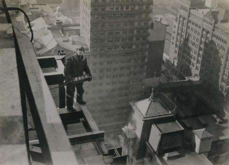 Construction of Lincoln Liberty Building, Philadelphia, 1926 Gelatin silver print, printed c. 1926 5 3/4 x 8 inches