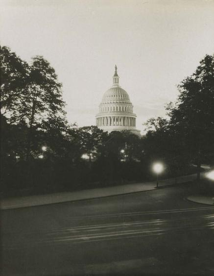 The Capitol, Washington D.C., 1926 Gelatin silver print, printed c. 1926 4 x 3 1/4 inches
