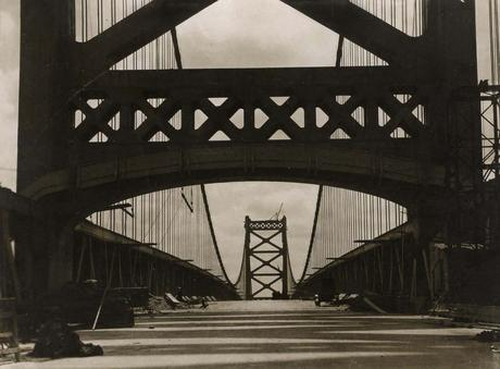 Delaware Bridge, Wilmington, 1926 Gelatin silver print, printed c. 1926 3 1/4 x 4 1/4 inches