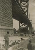 Delaware Bridge, Wilmington, 1926 Gelatin silver print, printed c. 1926 4 1/2 x 3 1/4 inches