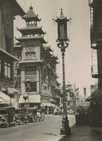 Chinatown, San Francisco, California, 1926 Gelatin silver print, printed c. 1926 9 3/4 x 6 1/2 inches