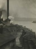 Lumber Yard, Seattle, Washington, 1926 Gelatin silver print, printed c. 1926 9 1/2 x 7 1/4 inches
