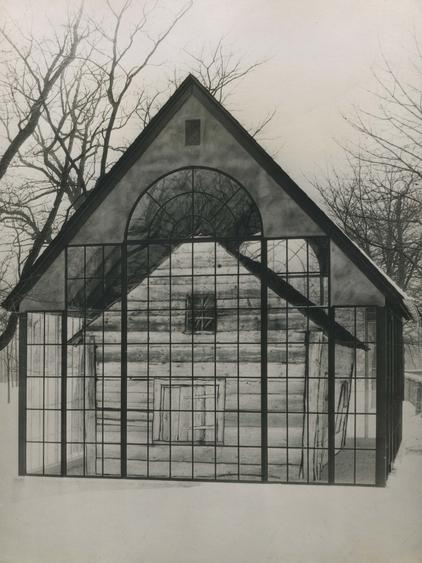 Enclosed Presbyterian Church, Derry Pennsylvania, 1926 Gelatin silver print, printed c. 1926 10 x 7 1/2 inches