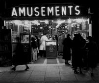 London Amusements, c. 1935 Gelatin silver print, printed c. 1935 3 3/4 x 4 1/2 inches