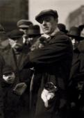 Dog and Monkey Seller, London, c. 1933 Gelatin silver print, printed c. 1933 4 x 3 inches