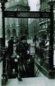 Woman Exiting Piccadilly Underground Station, London, c. 1939 Gelatin silver print, printed c. 1939 6 x 3 3/4 inches