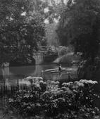 Boating in Regent's Park, London, c. 1929 Gelatin silver print, printed c. 1929 7 1/2 x 6 1/2 inches