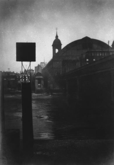 Cannon Street Station, London, c. 1916 Gelatin silver print, printed c. 1916 6 x 4 1/4 inches
