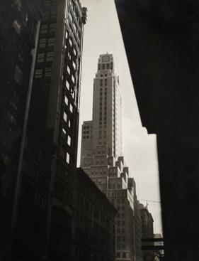 The Apotheosis of New York, c. 1920s-1930s Gelatin silver print, printed c. 1930s 11 11/16 x 8 7/8 inches