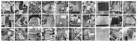 Parking Lots, 1967-69 Gelatin silver prints mounted to board 15 x 15 inches each