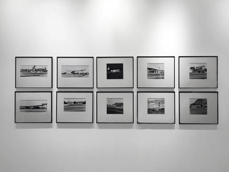 Gasoline Stations, 1962 10 Gelatin silver prints, printed c. 1989 19 7/16 x 22 15/16 inches