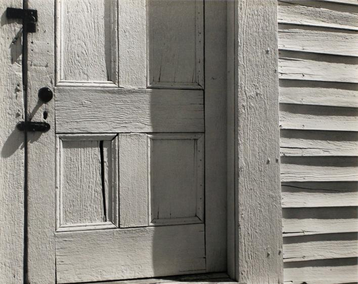 Church Door, Hornitos, 1940 Gelatin silver print mounted to board 7 1/2 x 9 1/2 inches