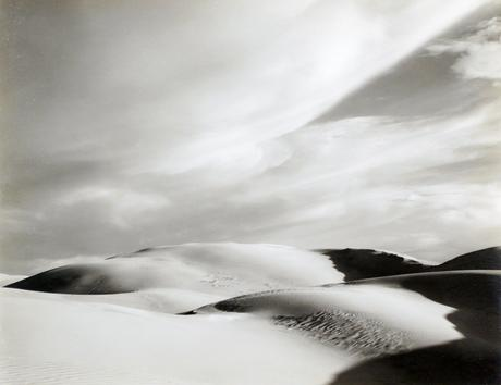 Dunes, Oceano, 1936 Gelatin silver print mounted to board, printed c. 1951-52 7 1/2 x 9 1/2 inches