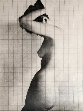 Erwin Blumenfeld, Nude Under Grid