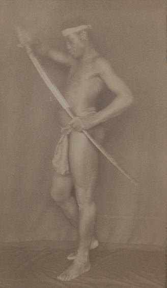 Nubia, c. 1896-1897 Toned platinum print mounted to card 6 1/2 x 3 3/4 inches