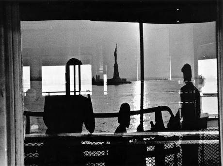 Staten Island Ferry, New York City, 1956 Gelatin silver exhibition print mounted to board, printed c. 1956 19 1/4 x 26 inches