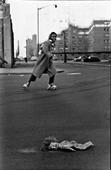 Found Doll, New York City, 1956 Gelatin silver print mounted to board, printed c. 1956 14 x 11 inches