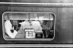 Dining Car, Atlantic City, New Jersey, 1957 Gelatin silver exhibition print mounted to board, printed c. 1957 10 1/8 x 15 inches