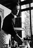 Waiter at the Hotel Alfonso XII, Seville, Spain, 1960 Gelatin silver print mounted to board, printed c. 1960 14 x 11 inches