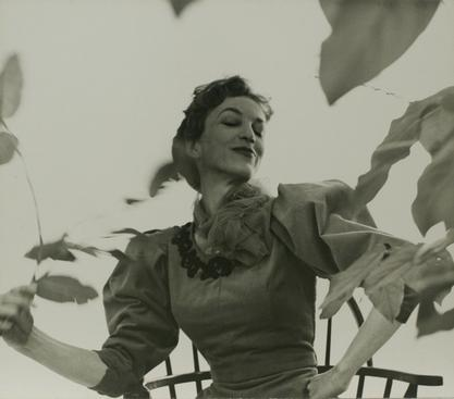 Actress Off Broadway Play, 1955 Gelatin silver print, printed c. 1955
