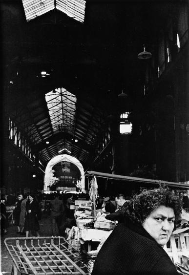 Woman at Market, Paris, France, 1960 Gelatin silver print, printed c. 1960 14 x 11 inches