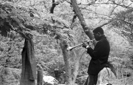 Musician Practicing, Central Park, 1956 Gelatin silver print 16 x 20 in. (40.64 x 50.8 cm) p.p1 {margin: 0.0px 0.0px 0.0px 0.0px; font: 10.0px Helvetica}