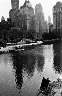 Spring, Central Park, New York City, 1956 Gelatin silver exhibition print mounted to board, printed c. 1956 24 7/8 x 16 3/4 inches