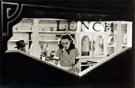 Frank Paulin, Lunch Counter, Chicago, 1952