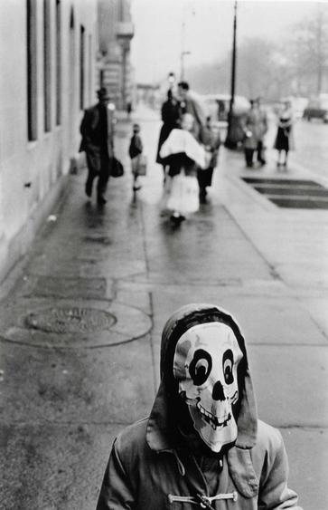 Mask, New York City, 1956 Gelatin silver print 14 x 11 in. (35.56 x 27.94 cm) p.p1 {margin: 0.0px 0.0px 0.0px 0.0px; font: 10.0px Helvetica}