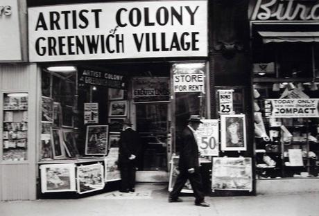 Untitled (Artist Colony of Greenwich Village, 14th Street), 1955 Gelatin silver print p.p1 {margin: 0.0px 0.0px 0.0px 0.0px; font: 10.0px Helvetica} 16 x 20 in. (40.64 x 50.8 cm)
