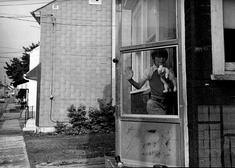 Boy With Rabbit, Easton, Pennsylvania, 1981 Gelatin silver print, printed c. 1981 11 x 14 inches