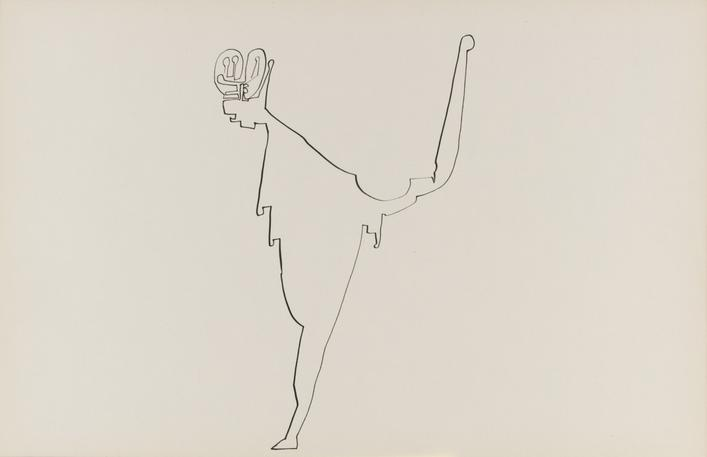 Frederick Sommer Untitled, c. 1938-42 Pen and ink drawing on paper. 12 x 18 1/2 inches