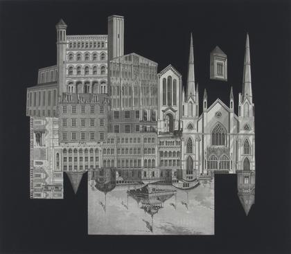 Frederick Sommer Untitled, 1993 Collage on paper. 23 5/8 x 23 11/16 inches