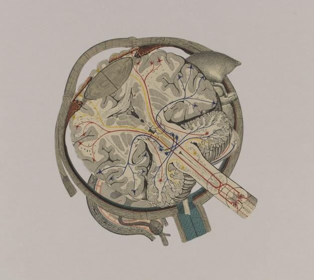 Untitled, 1997 Collage on paper. 13 x 14 5/16 inches