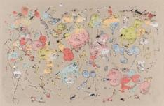 Frederick Sommer Untitled, c. 1947-52 Glue color drawing on paper. 12 x 18 1/2 inches