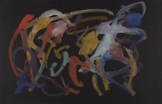 Frederick Sommer Untitled, c. 1950-55 Glue color drawing on paper. 12 x 18 1/2 inches