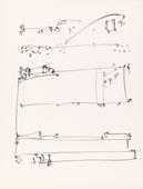 Frederick Sommer Untitled, c. 1950s Pen and ink drawing on paper. 12 x 9 1/4 inches