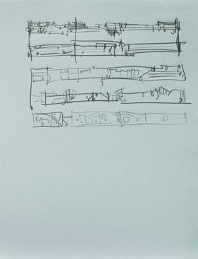Frederick Sommer Untitled,n.d. Pencil drawing on paper 12 1/2 x 9 1/2 in.