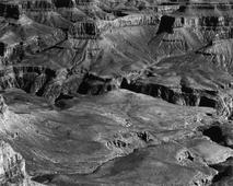 Untitled (Colorado River Landscape), c. 1940-42 Gelatin silver print mounted to board, printed c.1940s. 7 5/8 x 9 9/16 inches