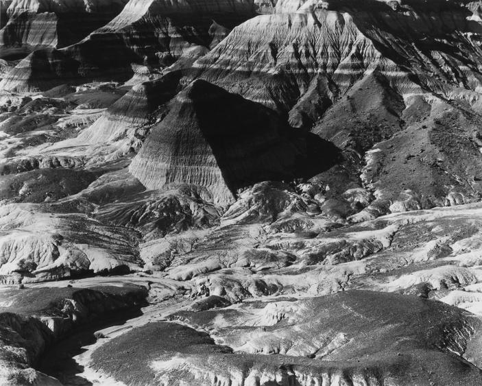 Frederick Sommer Untitled (Painted Desert), c. 1940 Gelatin silver print mounted to board, printed c. 1940. 7 9/16 x 9 7/16 inches