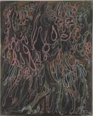 Frederick Sommer Untitled, 1946 Glue tempura on canvas. 40 1/4 x 32 1/4 inches