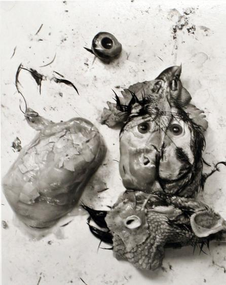 Chicken Parts, 1939 Gelatin silver print mounted to board, printed c. 1990s. 9 1/2 x 7 1/2 inches