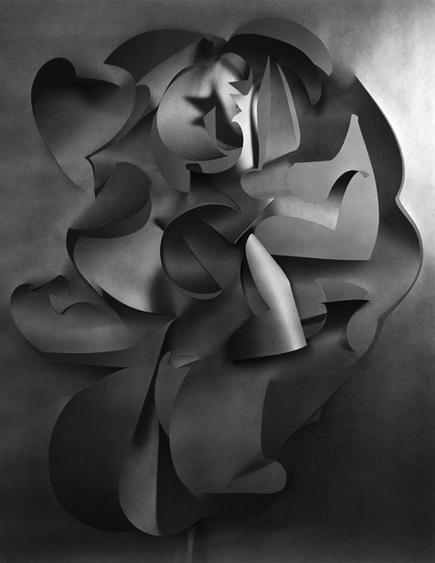 Frederick Sommer Untitled (Cut Paper), 1967-1975 Gelatin silver print 13 3/8 x 10 1/2 in.